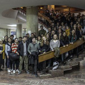 Bucharest lab-PHOTO P Urbain Mars 2019 - Photo de groupe Workshop Ion Mincu Bucarest Roumanie Pur 20190308 10