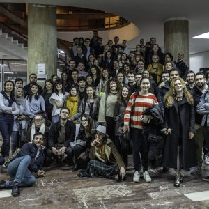 Bucharest lab-PHOTO P Urbain Mars 2019 - Photo de groupe Workshop Ion Mincu Bucarest Roumanie Pur 20190308 12