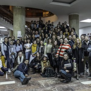 Bucharest lab-PHOTO P Urbain Mars 2019 - Photo de groupe Workshop Ion Mincu Bucarest Roumanie Pur 20190308 15